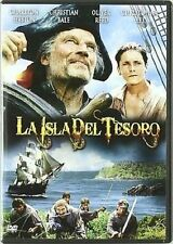 TREASURE ISLAND (1990 Charlton Heston) -  DVD - New & sealed PAL Region 2