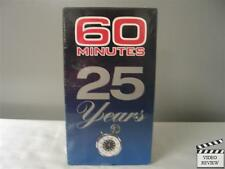 60 Minutes 25 Years VHS NEW Mike Wallace, Ed Bradley