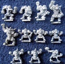 1993 Orc Bloodbowl 3rd Edition Team Citadel Orcland Raiders Ork Fantasy Football