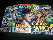 Doctor Who, TV and Satellite x2, Total TV Guide x1, 3magazines in total.