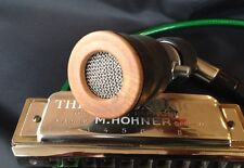 Harmonica Bullet Microphone/Dynamic - Moothie Wood Mic