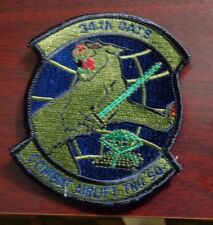 USAF FLIGHT SUIT PATCH,34TH COMBAT AIRLIFT TRAINING SQUADRON