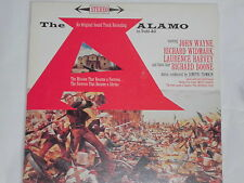 THE ALAMO (John Wayne, R. Widmark, L. Harvey) LP Soundtrack  OST