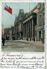 POSTCARD / CARTE POSTALE / CANADA / MONTREAL POST OFFICE AND BANK OF MONTREAL