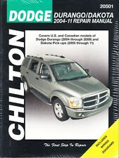 2004 2005 2006 2007 2008 2009 2010 2011 Dodge Durango Dakota Repair Manual 29880