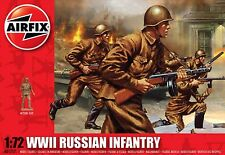 Airfix A01717 1/72 Plastic WWII Russian Infantry 41 Figures