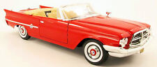 Diecast Car Model 1960 CHRYSLER 300F Red Size 1:18 Great Gift NEW