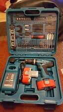 Makita 8391DWPETK 18V Cordless Combi Drill + Batteries + 101 Piece Accessory Set