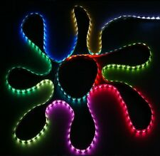 LED 5M RGB Digital Chasing Strip Light Kit12V Waterproof Adaptor+Remo Controller