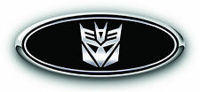 "Ford Taurus 2010-2013 3PC Kit  Transformers ""Decepticon"" Overlay Emblem Decal"