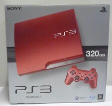 CONSOLE SONY PLAYSTATION 3 SCARLET RED LIMITED EDITION 320 GB NTSC JAPAN RARE