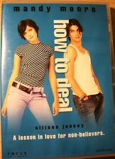 HOW TO DEAL MANDY MOORE ALLISON JANNEY PETER GALLAGHER REGION 2 DVD NEW RARE