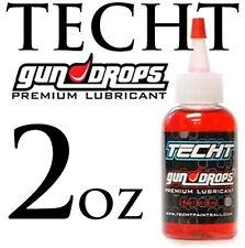 TECHT GUN DROPS PREMIUM LUBRICANT - 2oz - Paintball Gun Oil or Grease