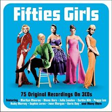 Fifties Girls VARIOUS ARTISTS Best Of 75 Songs ESSENTIAL 50s Music NEW 3 CD