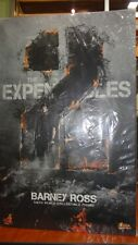 HOT TOYS THE EXPENDABLES 2 BARNEY ROSS 1/6 COLLECTION FIGURE MMS 194