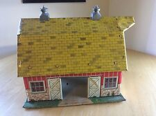 Vintage Tin Litho Marx 1950s 60s Lazy Day Farm -has Cupolas - Nice Lithograph