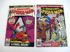 *AMAZING SPIDER-MAN LOT #164-178 8 Books Punisher! Green Goblin! Guide $111