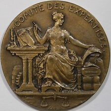 1822 France Ministry of Commerce and Industry Trade Bronze Medal by Patey M23b