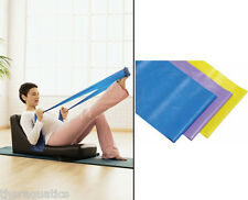 Flat Exercise Resistance BAND Stretch HEAVY Yoga Workout Power Strength NEW- YBV
