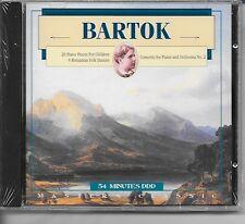 Bartok 20 Piano For Children Concertos Folk Dances Classical Music CD