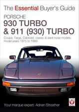 Porsche 930 Turbo & 911 930) Turbo The Essential Buyers Guide book paper