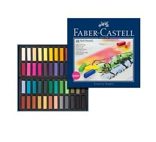 FABER-CASTELL - ARTISTS CHALK / SOFT PASTELS - 48 SET - FREE UK POSTAGE