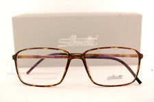 New Silhouette Eyeglass Frames SPX Illusion Fullrim 2887 6051 Havana Women Men