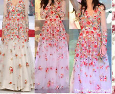 BEAUTIFUL DESIGNER BOLLYWOOD GRACEFUL UNSTITCHED WHITE NET GOWN