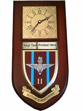 2 bn Parachute Regiment Personalised Military Wall Clock Plaque UK Made for MOD