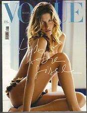 GISELE BUNDCHEN Brasil BRAZIL Vogue Magazine 2003 SPECIAL ISSUE ALL GISELE