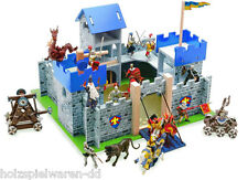 Le Toy Van TV235 Excalibur Castle Knight Castle blue 50 x 45 x 39 cm wood new! #