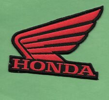 """New Honda  'Wing'  3 X 4""""  Inch  Iron on Patch Free Shipping"""