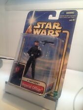 FIGURINE HASBRO STAR WARS 2002 IMPERIAL OFFICER A NEW HOPE ATTACK THE CLONES