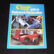 Pur-sang voitures classiques et guide pour carrosserie restauration. cartonnée. très bon état