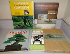 4 Books on Japanese Gardens and Bonsai