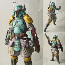 "Bandai Movie Realization Star Wars Ronin Boba Fett Action Figure 7"" Statue Toys"