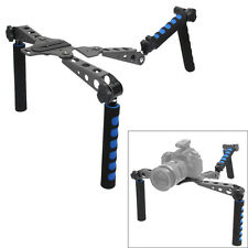 DSLR Shoulder Mount Rig Stabilizer Movie Film Kit for Canon Nikon Sony Camera