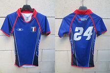 Maillot moulant porté Lycée FRANCE Singapour rugby match worn shirt collection X