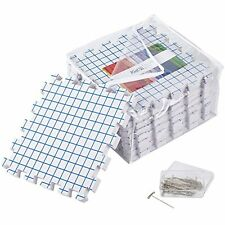 Blocking Mats Knitting Grids Extra Thick Board 30 T-pins Reusable Crochet Lace