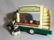 Calico critters/sylvanian families Double Decker Bus With Driver