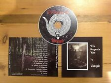 MEKIGAH - The Serpent's Kiss CD - MINT rock / doom opera Third And The Mortal