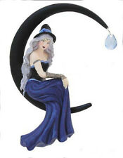 AZURA Moon Witch Fairy Diva Faery Ornament Jessica Galbreth enchanted art faerie