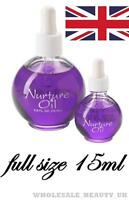 NSI Nurture Oil 15ml With Dropper - FULL SIZE  - Nails BRAND NEW IN BOX - UK