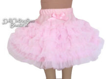 "Pink Can-Can Tutu Skirt made for 18"" American Girl Doll Clothes"