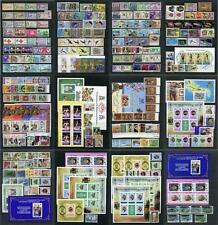 Turks & Caicos Islands QEII Mint Lot. Mixed MM & MNH. Twelve scans