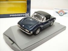 """Fiat Dino Spyder 2000 """"Soft Top"""", Blaumet., 1972, Progetto (Made in Italy) 1:43"""