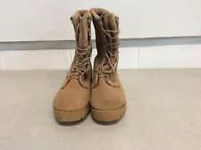 USGI BELLVILLE MILITARY COLD WEATHER GORTEX TAN HIKING SURVIVAL BOOTS SZ 7.5 R