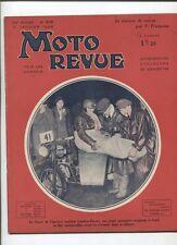 Moto Revue N°618  ; 12 janvier 1935 :  moteurs d'avions,de motos et d'autos