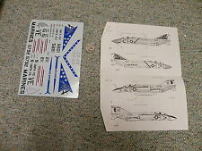 Fowler Aviation  decals 1/48 FD 48-07 F-4J    H90