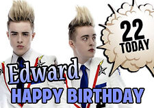 Personalised Jedward Birthday Greeting Card A5
